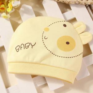 Caciulita galbena tip fes - Baby