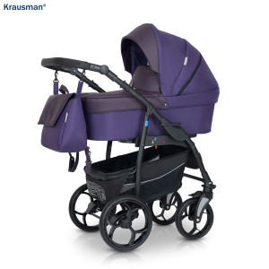 Carucior 3 in 1 model Combo Max Purple