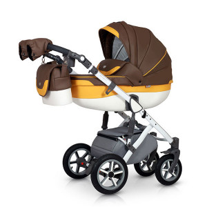 Carucior 3 in 1 model Contempo Brown