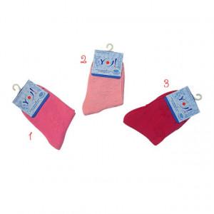 Ciorapei cu model din tesatura fetite