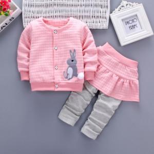 Compleu roz fetite - Bunny