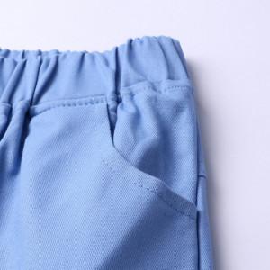 Costum cu pantalonasi si camasuta pentru bebelusi