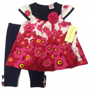 Costumas - Flori roz ciclamen