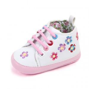 Ghetute fetite albe - Floricele colorate