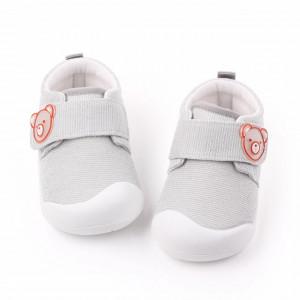 Pantofi sport gri pentru fetite - Teddy