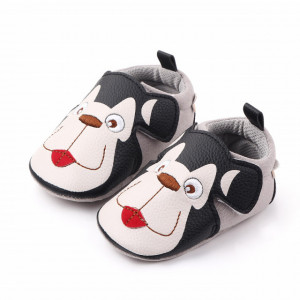 Pantofiori baietei - White dog