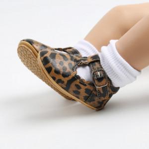 Pantofiori leopard pentru fetite