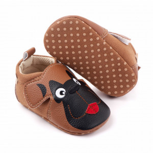 Pantofiori maro - Black dog