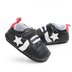 Pantofiori negri cu steluta