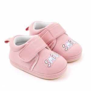 Pantofiori roz pudra pentru fetite - Smile
