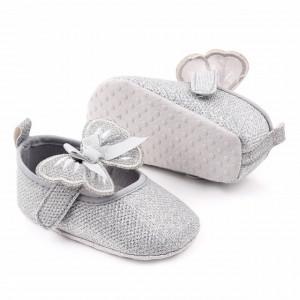 Pantofiori sidefati pentru fetite - Fluturas