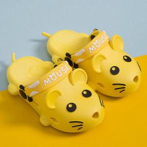 Papuci din cauciuc pentru copii - Soricelul galben