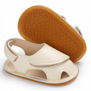 Sandale ivoire inchise in fata