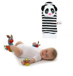 Soseta interactiva pentru bebelusi - Panda