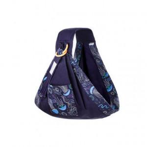 Wrap bleumarine pentru bebelusi