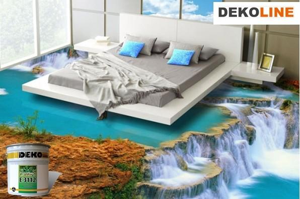 Tencuiala Decorativa Deko Pret.Deko E 3112 Pardoseala Decorativa Transparenta 10kg