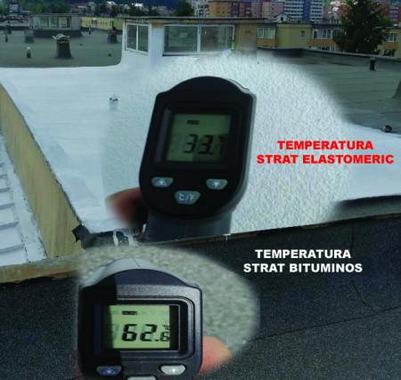 Poze Vopsea elastomerica termoizolanta si hidroizolanta pentru acoperis si piscine