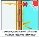 Vopsea  termoizolanta pentru suprafete exterioare cu tripla actiune de Reflectie,     Rezistenta si  Impermeabilitate