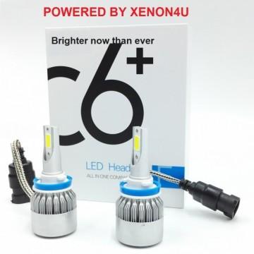 Poze KIT Becuri LED faza scurta/lunga 36w 12v-48v - H1, H7, 6000k (3800 Lumeni)