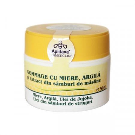 Gommage cu miere 50 ml Apidava