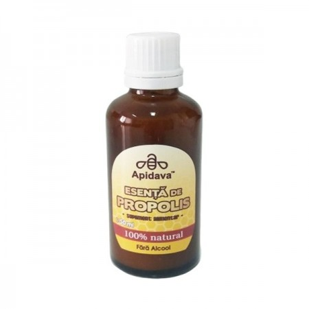 Esenta de propolis fara alcool 50 ml Apidava