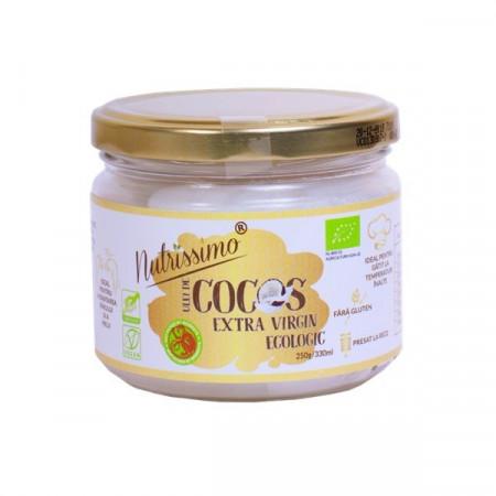 Ulei cocos extravirgin presat la rece 280ml eco PVN