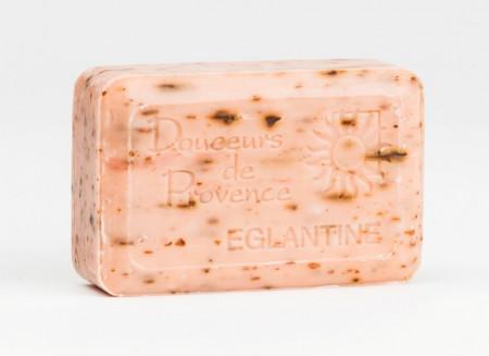 Sapun exfoliant cu macese si unt de shea 200g Apidava