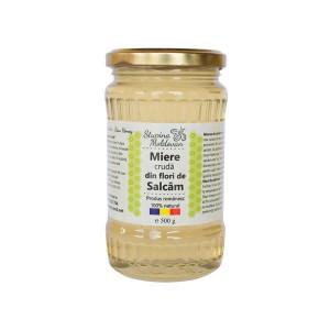 Miere cruda de Salcam 500g Stupina Moldovan