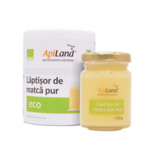Pachet Laptisor de matca pur BIO - 100g + Polen Crud Poliflor 250g