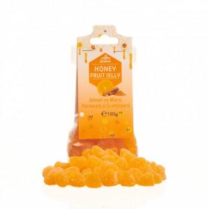 Jeleuri cu miere, portocale si scortisoara 100g Apidava