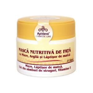 Masca nutritiva de fata 50 ml Apidava