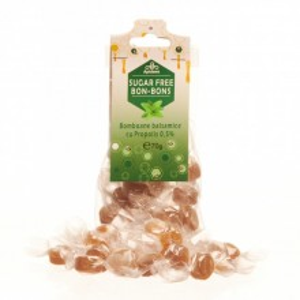 Bomboane balsamice fara zahar cu propolis, menta si eucalipt - Apidava