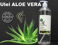 Poze Ulei de masaj cu Aloe Vera - Yamuna - 250 ML sau 1.000 ML