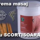 Crema masaj cu SCORTISOARA