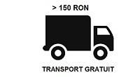 Transport gratuit la comenzi de peste 150 ron