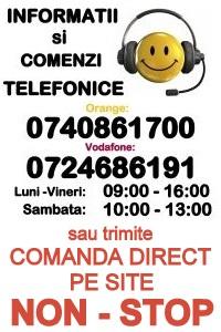 Comenzi telefonice cartuse imprimanta