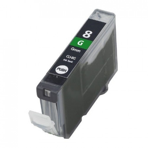 CARTUS compatibil CANON VERDE CLI-8-G * CLI8 GREEN STANDARD rezerva verde cu chip