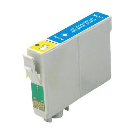 Cartus compatibil albastru EPSON T0712 T712 standard T-0712 cyan