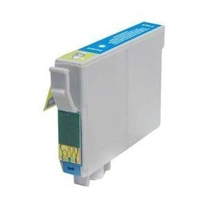 Poze Cartus compatibil color EPSON T-1282 Albastru  ( Cartuse T1282 Cyan )