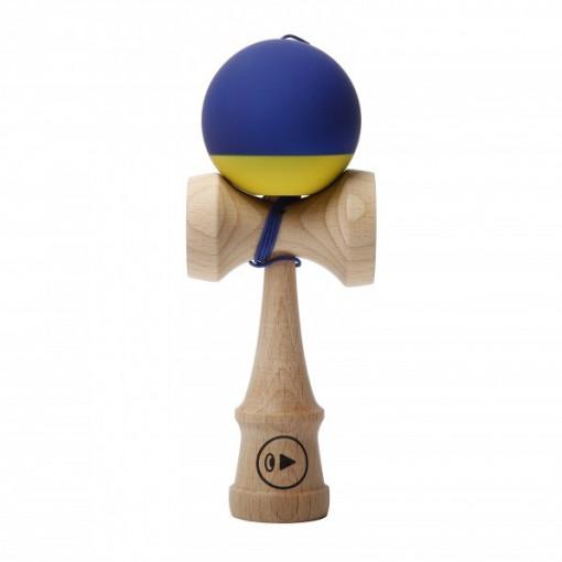 Kendama Europe Play Pro Grip 2K BLUE BANANA ( bila albastra cu galben )
