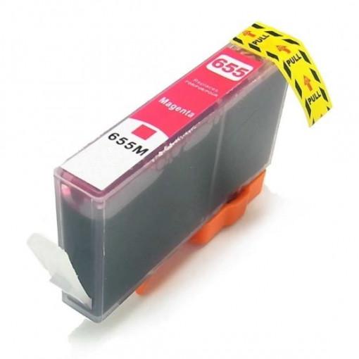 Cartus ROSU HP655-XL HP 655XL MAGENTA compatibil CZ111AE 600 pagini PRET PROMO !!!