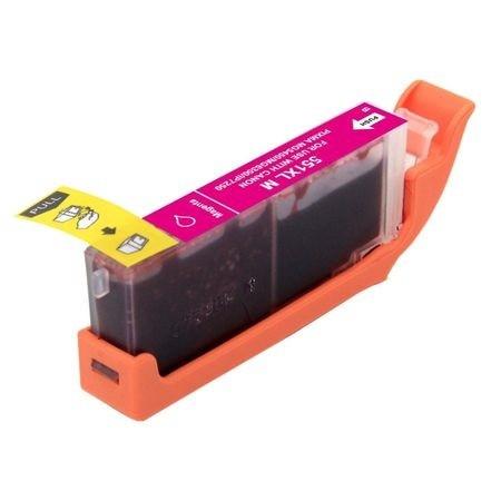 CARTUS compatibil rosu CANON CLI-551XL-M CLI551XL Magenta capacitate mare 551XL imprimante Canon Pixma iP7250 MG5450 MG5550 MG6350 MG6450 MX925
