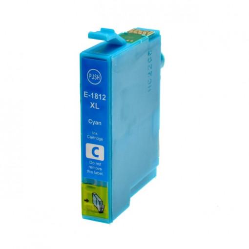 Cartus albastru EPSON 18XL T-1812XL T1812-XL C13T18124010 Cyan compatibil Epson Expression Home XP 30 102 202 205 302 305 402 405