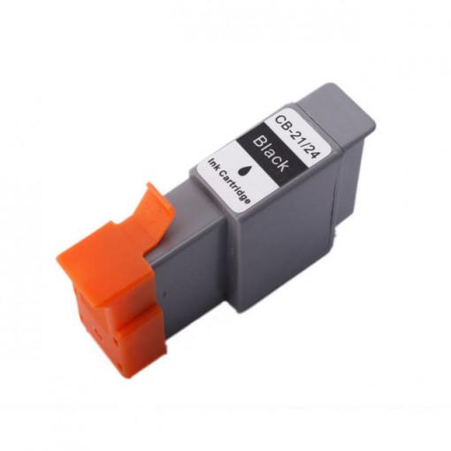 Cartus compatibil negru CANON BCI-24-BK BCI-21-BK CB-21-24 ( BCI24 - BCI21 )