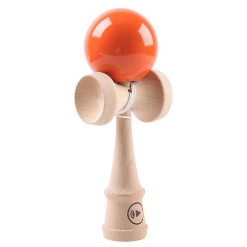 KENDAMA EUROPE PLAY PRO 2K orange / portocaliu ( BILA PORTOCALIE ) seria 2