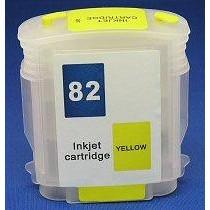 Cartus autoresetabil HP82 Yellow C4913A reincarcabil HP-82 GALBEN refilabil cu cip auto-resetabil