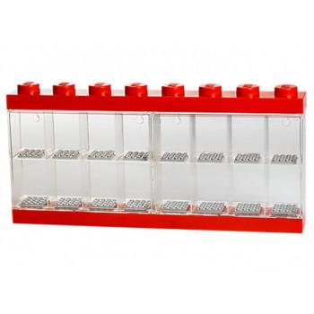 Cutie rosie pentru 16 minifigurine