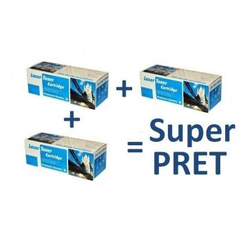 Pachet 3 cartuse laser HP Q2612A HP-12A 2612A compatibile la 29 ron / buc
