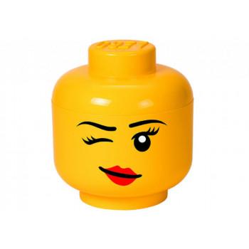 Cutie depozitare L cap minifigurina LEGO - Whinky