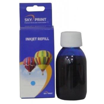 Cerneala albastra HP62 C2P06AE HP 62XL C2P07AE Cyan 100 ml
